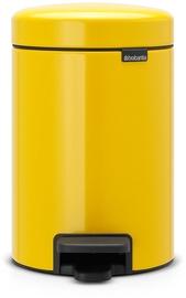 Brabantia Pedal Bin NewIcon 3l Daosy Yellow