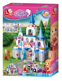Sluban Girls Dream Play Palace 815pcs M38-B0610