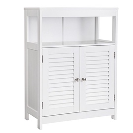Songmics Bathroom Cabinet White 60x80x30cm