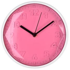 Mondex Round Clock Pink 20cm