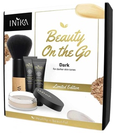 Inika Beauty On The Go Set 11g Dark