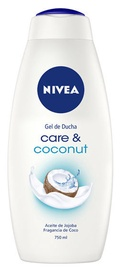 Nivea Care & Coconut Shower Gel 750ml