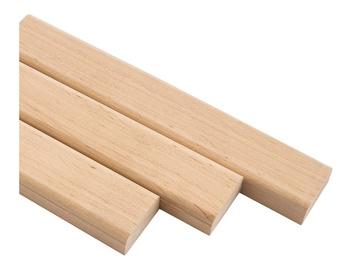 Деревянный брусок Sauna Board 25x85x2000mm Black Alder