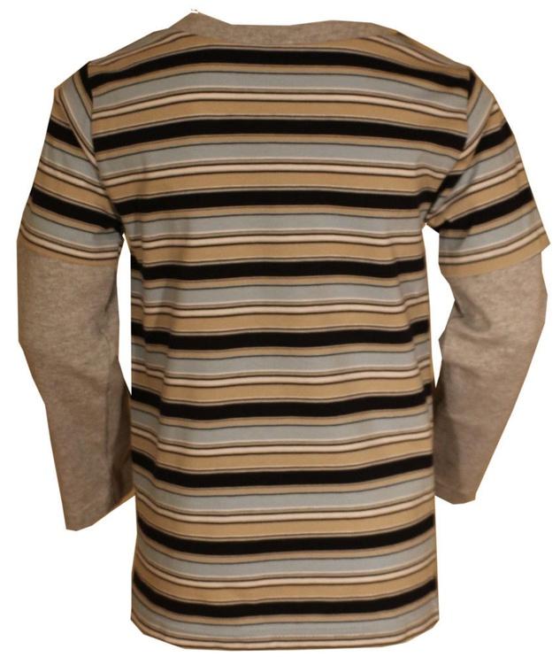 Детская рубашка Bars Junior 38, коричневый, 140 см