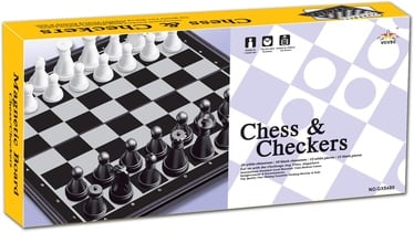 SN Checkers&Chess Magnetic Board QX5480