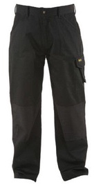 DeWALT DWC20-001 Mens Polycotton Work Pant with Knee Pad Pockets 32 33