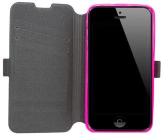 Telone Super Slim Shine Book Case Microsoft 640 Lumia Pink