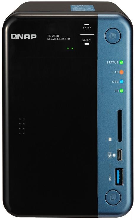 QNAP Systems TS-253B-4G 2-Bay NAS 20TB