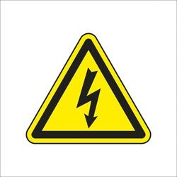 Zīme bīstami elektrība H12