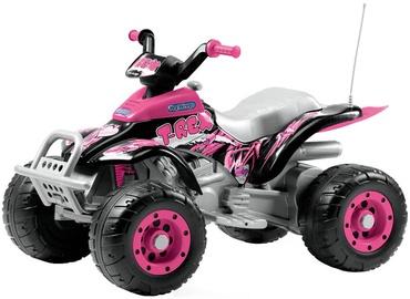 Rotaļlieta bezvadu kvadracikls Peg Perego Corral T Rex Pink IGOR0073
