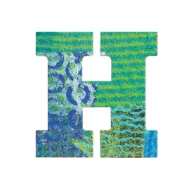 Djeco Peacock H Letter