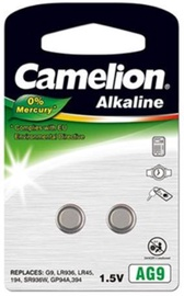 Camelion AG9 Alkaline Buttoncell Battery x 2