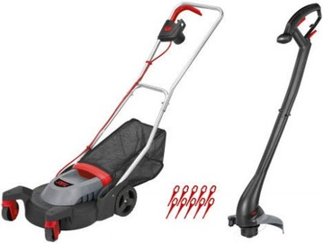 SKIL 0074 AA Lawnmower & Strimmer Set