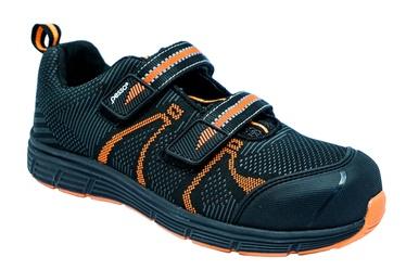 Ботинки Pesso, черный/oранжевый, 44