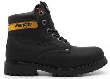 Wrangler Hunter Leather Winter Boots Black 44