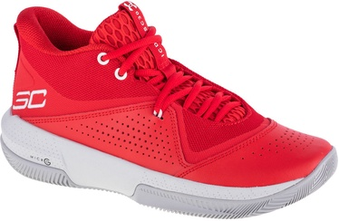 Under Armour SC 3ZER0 IV Basketball Shoes 3023917-600 Red 47