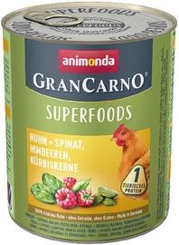 Animonda GranCarno Superfoods Dog Wet Food With Chicken 800g
