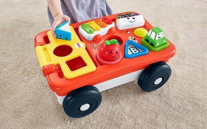 Fisher Price Pull & Play Learning Wagon GHV14