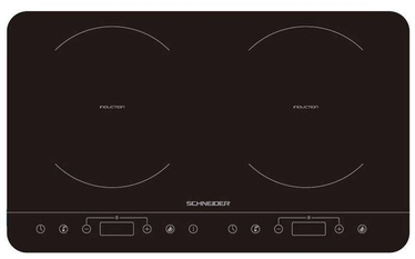 Schneider SCIH82B Induction Hob Black