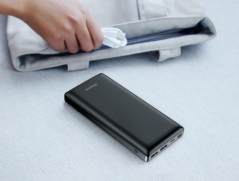 Внешний аккумулятор Baseus Mini JA PPJAN-C01 Black, 30000 мАч