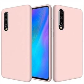 Hurtel Soft Flexible Back Case For Huawei P30 Pink