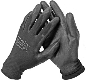 Art.Master Nylon Gloves With PU Black 6