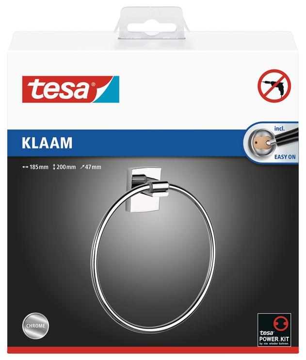 Держатель для полотенец Tesa 40266, 47 мм x 185 мм x 200 мм, Металл