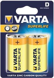 Varta Super Life Battery 2x D