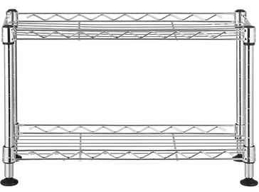 Songmics Storage Shelves Silver 40x15x26.5cm
