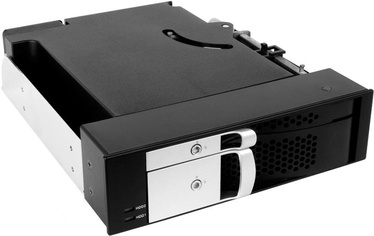ICY BOX IB-172SK-B 5.25'' Trayless Module for 2.5'' and 3.5'' SATA HDD