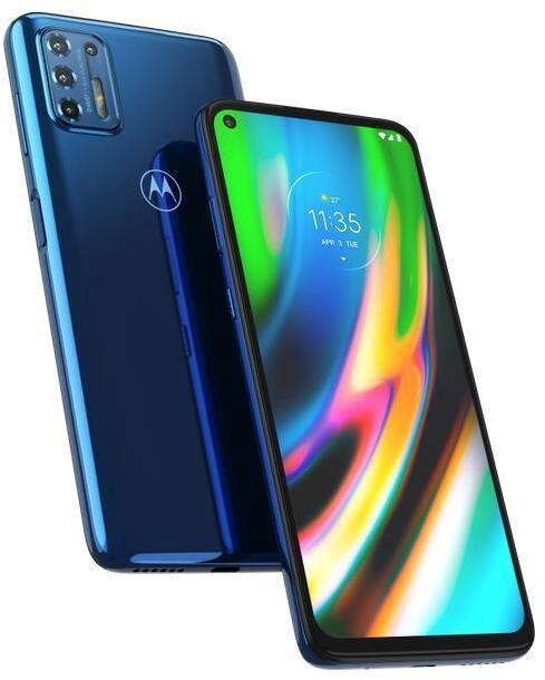 Мобильный телефон Motorola Moto G9 Plus, синий, 4GB/128GB