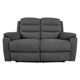 Dīvāns Home4you MIMI 2 14082, pelēka, 153 x 93 x 102 cm