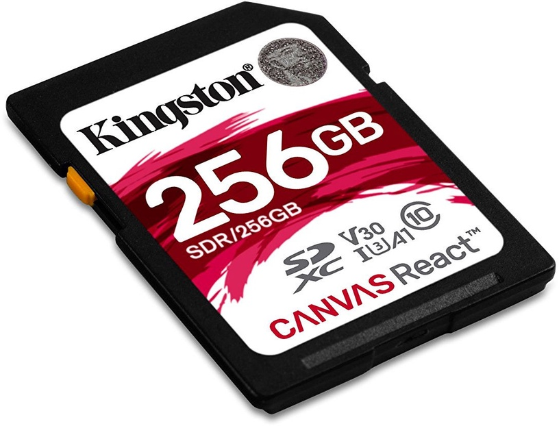 Kingston Canvas React SD 256GB