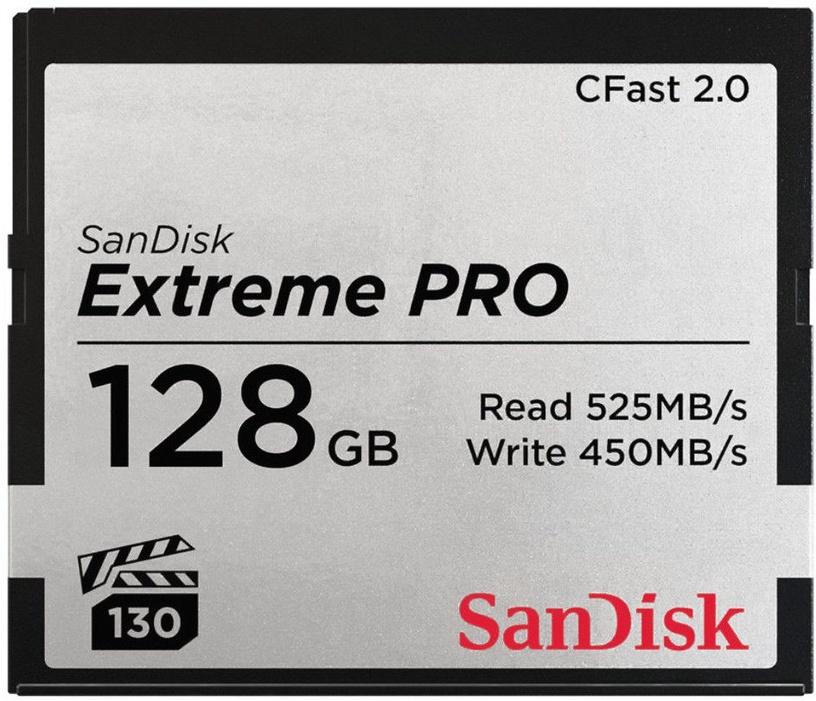 SanDisk 128GB Extreme Pro CFast 2.0 525MB/s