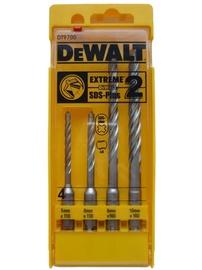 Mūro grąžtų rinkinys DeWalt SDS+ EXTREME, 4 vnt