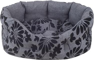 Кровать для животных Amiplay Euphoria, черный/серый, 400x470 мм