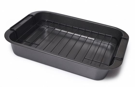 Fissman Roaster Pan With Removable Rack 37.5x27.5x6cm
