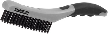 Kreator KRT561007 PP Wire Brush 4R Stainless Steel