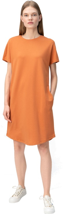 Audimas Soft Surface Modal Dress Orange S