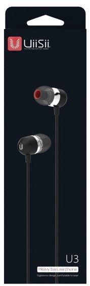 Ausinės UiiSii IT-U3 In-Ear Black