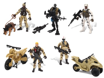 Chap Mei Soldier Force Team Patrol Figure Set