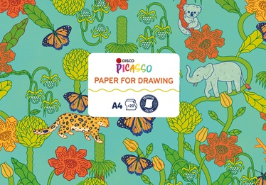 Бумага для рисования Disco, a4, 120 g/m², 20 шт.