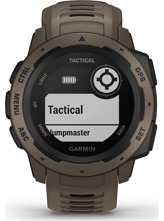 Garmin Instinct Tactical Edition Coyote Tan