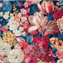 Paw Decor Collection Flower Splendor Napkins 33x33cm