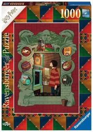 Ravensburger Puzzle Harry Potter At The Weasleys 1000pcs 16516