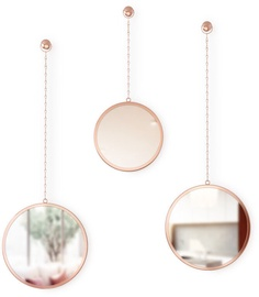 Umbra Dima Round Mirror Copper