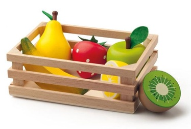 Woody Crate With Fruits 91170