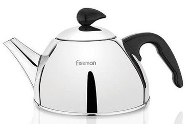 Fissman Lavander Tea Pot With Strainer 1l