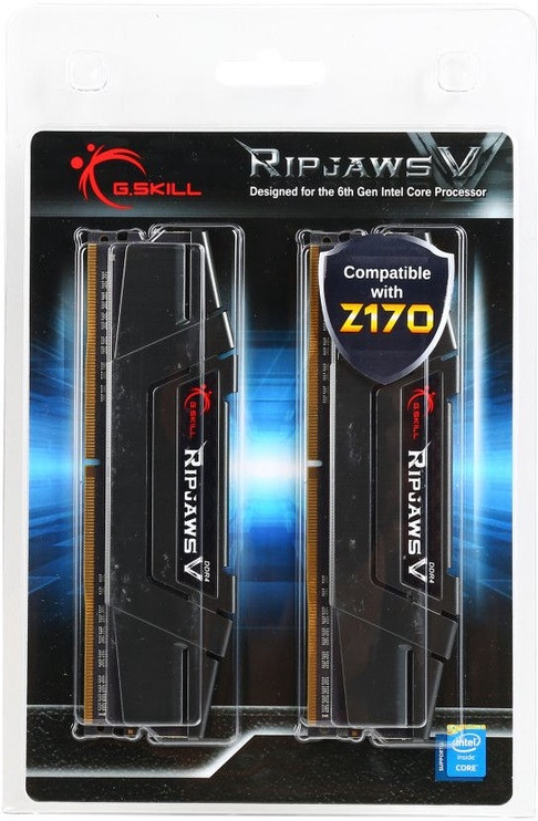 G.SKILL RipjawsV rev.2 16GB 3200MHz CL16 DDR4 XMP2 KIT OF 2 F4-3200C16D-16GVKB