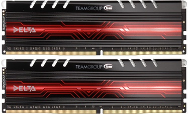 Operatīvā atmiņa (RAM) Team Group Delta Red LED TDTRD432G2400HC15BDC01 DDR4 32 GB